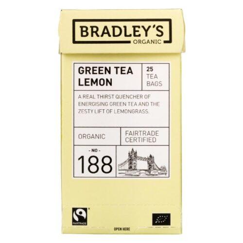 Bradley's Grøn Te Citron