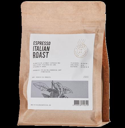 Espresso Italian Roast fra Peter Larsen Kaffe