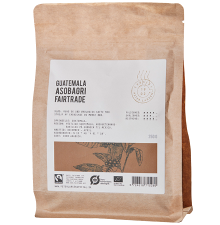 Guatemala Asobagri Fairtrade Kaffe fra Peter Larsen