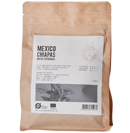 Mexico Chiapas Øko fra Peter Larsen Kaffe