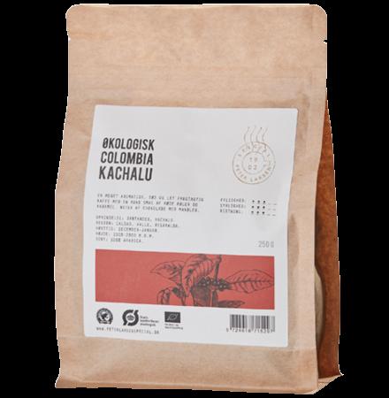 Colombia Kachalu - Økologisk Kaffe fra Peter Larsen