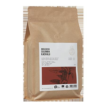 Colombia Kachalu Kaffebønner fra Peter Larsen Kaffe