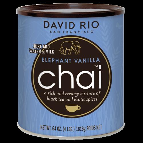 Stor Dåse David Rio Elephant Vanilje Chai