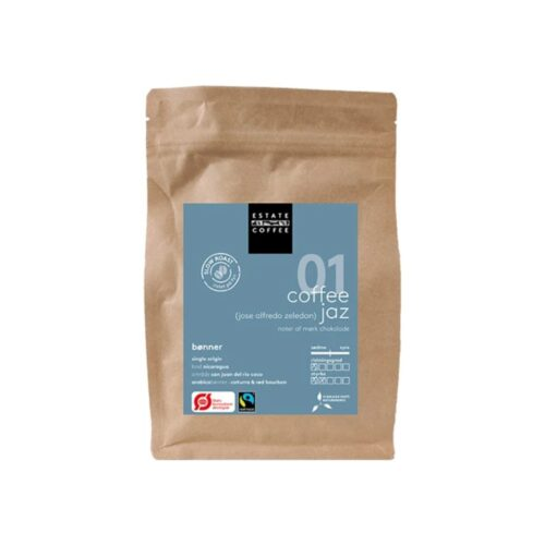 01 Coffee Jaz fra Estate Coffee (200g)