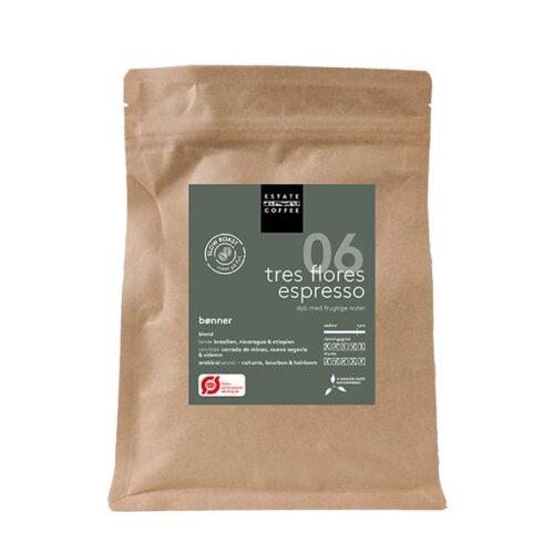 Tres Flores Espresso Bønner fra Estate Coffee