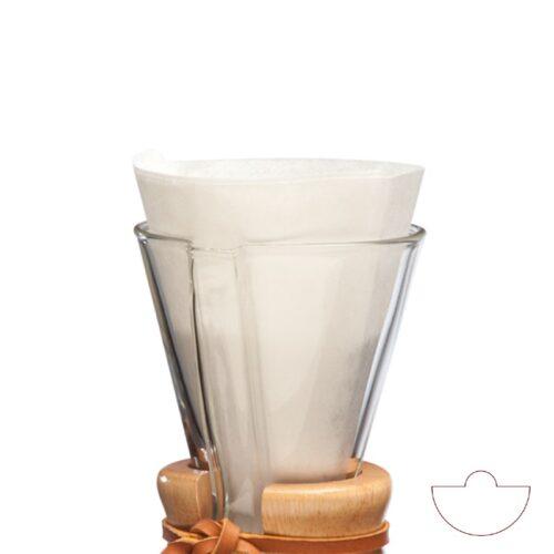 Chemex Kaffefiltre FP 2-3 Kopper