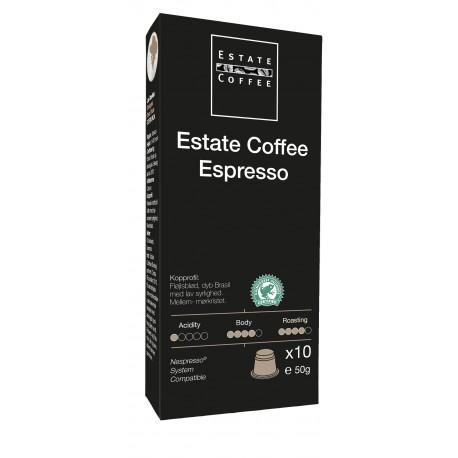 Estate Coffee Espresso Kapsler
