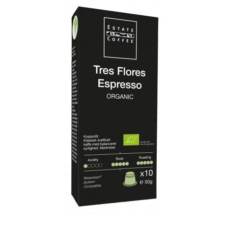 Tres Flores Espresso Kaffekapsler