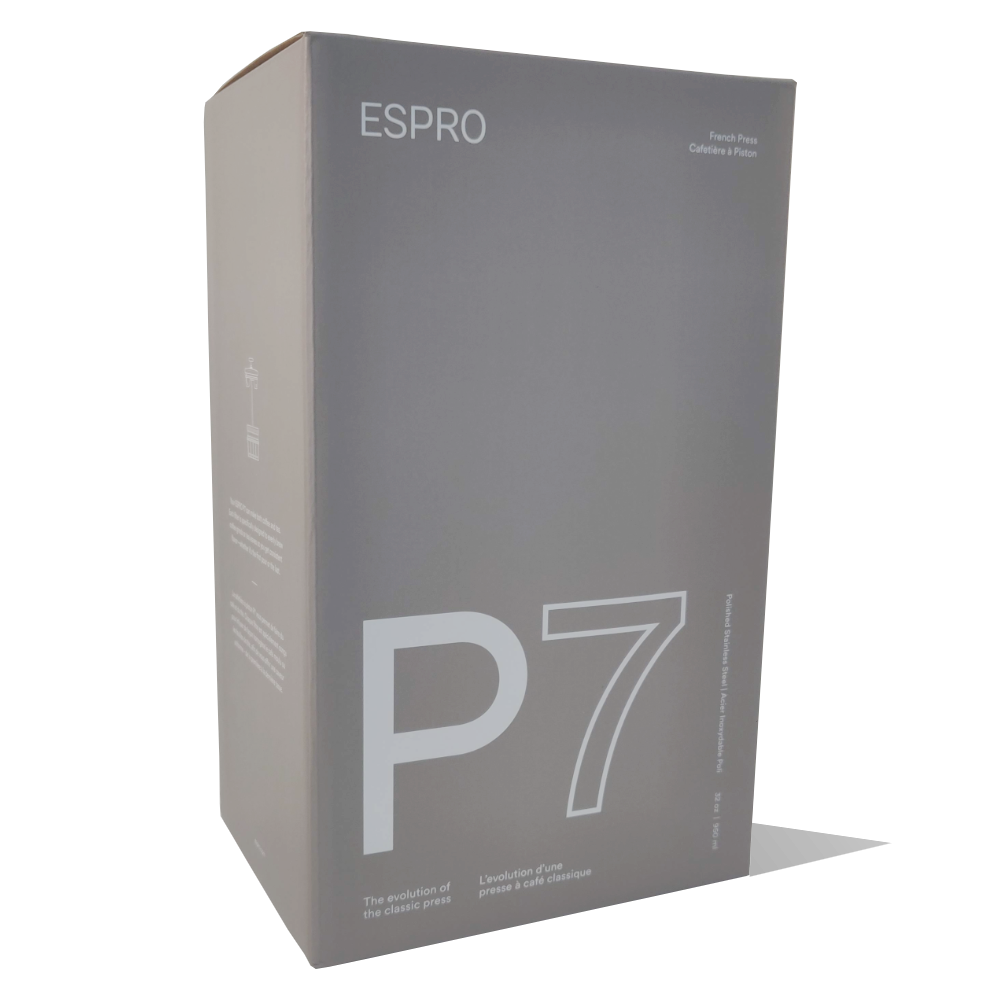 Espro P7 emballage