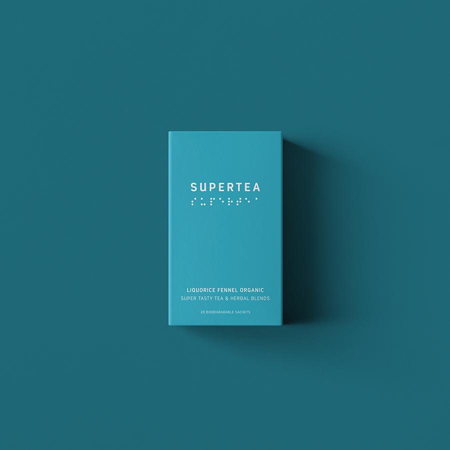 Supertea Liquorice and Fennel Organic