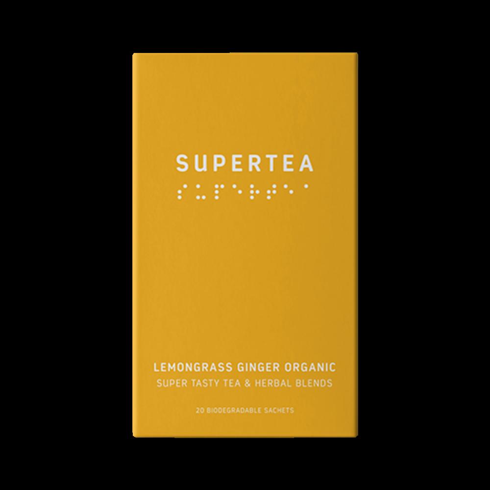 Supertea Citrongræs og Ingefær