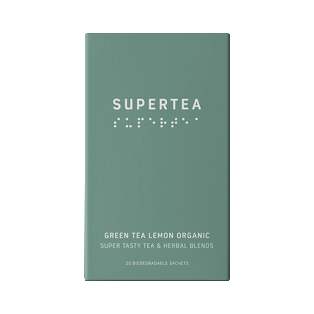 Supertea Grøn Te med Citron
