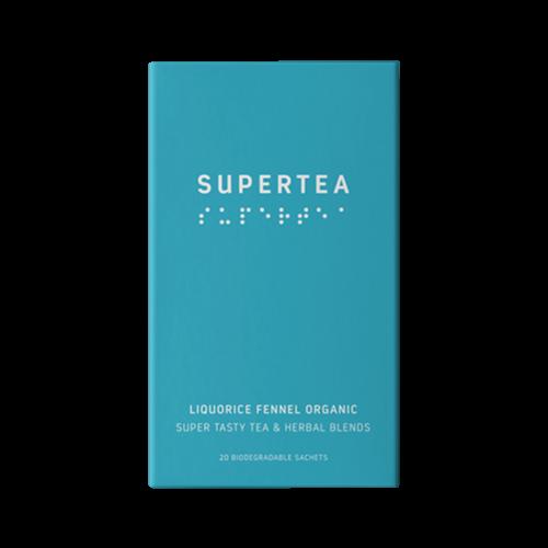 Supertea Lakrids og Fennikel Økologisk te