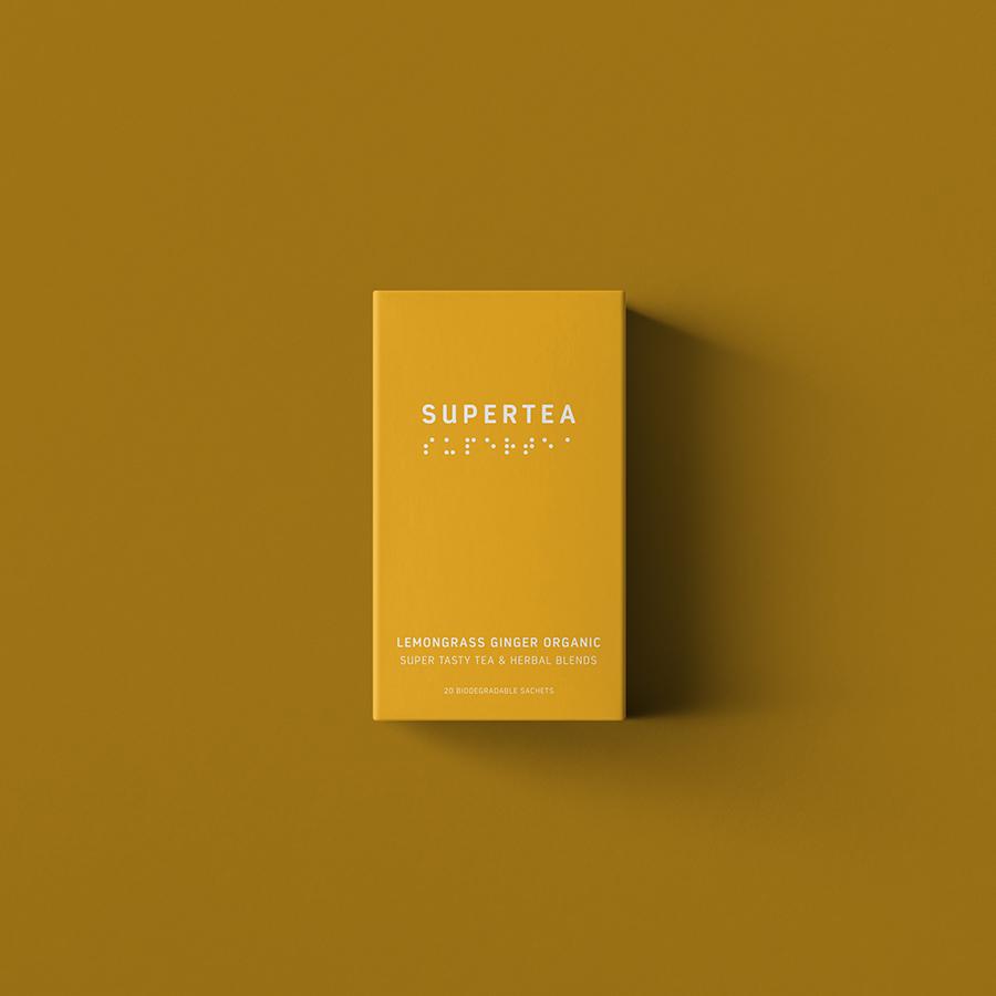Supertea Lemongrass og Ingefær