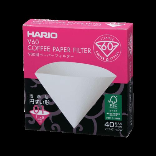 Hario V60 Kaffefiltre fra Japan