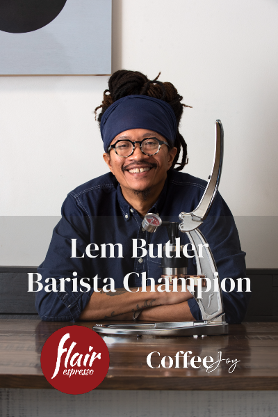 Flair Lem Butler Barista Champion